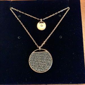SWAROVSKI Ginger Layered Pendant Necklace